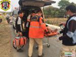 อุบัติเหตุรถจักรยานยนต์แฉลบล้มเอง